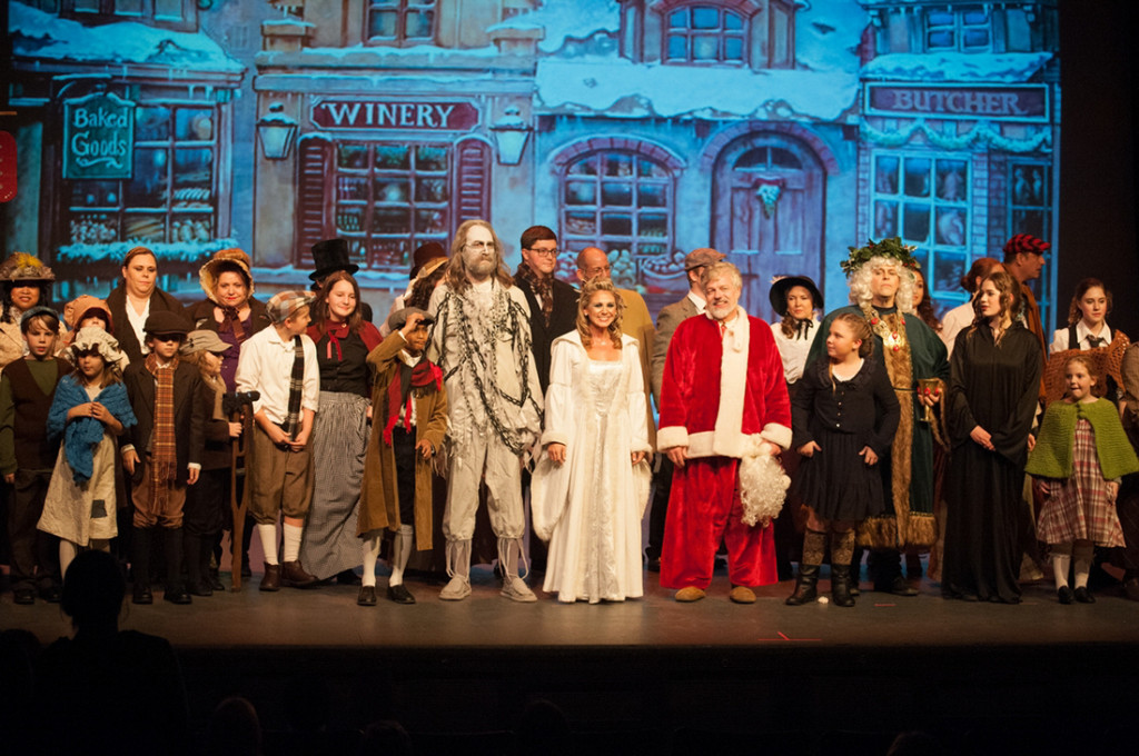 The Cast of Scrooge